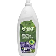 Seventh Generation ® Natural Dish Liquid Soap, Lavender Floral And Mint, 25 oz. Bottle