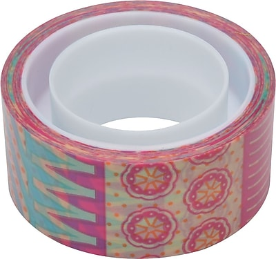 Scotch® Expressions Magic™ Tape, Circus Pattern, 3/4