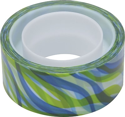 Scotch® Expressions Magic™ Tape, J Kimberling TB Wave Pattern, 3/4