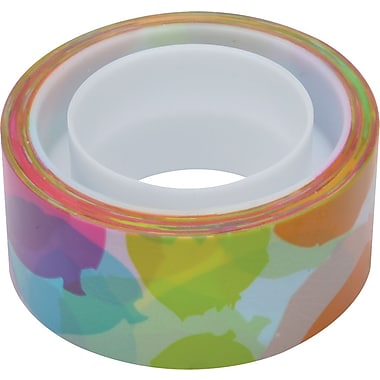 Scotch® Expressions Magic™ Tape, Watercolor Pattern, 3/4