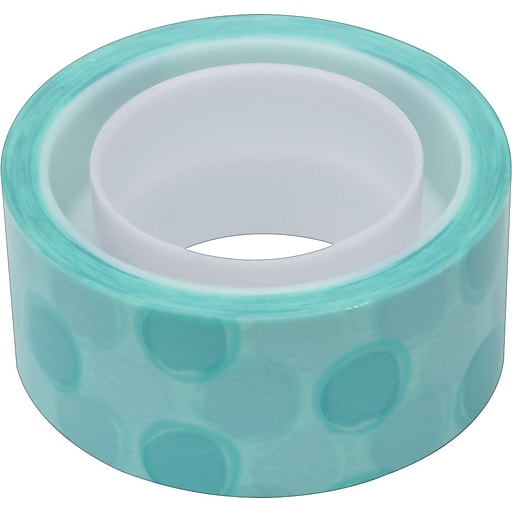 "Scotch® Expressions Magic™ Tape, Circles Pattern, 3/4"" x 300"" Roll, 1"" Core"