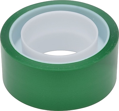 Scotch® Exoressions Tape, Dark Green, Removable, 3/4