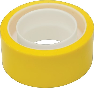 Scotch® Expressions Tape, Yellow, Removeable, 3/4