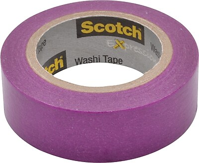 Scotch® Expressions Washi Tape, Under 30 yds., 3/5