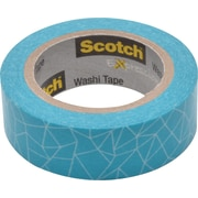 "Scotch® Expressions Washi Tape, 0.59"" x 10.91 yds., Cracked (C314-P28)"