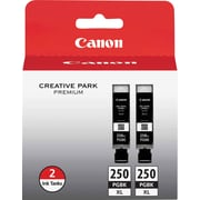 Canon PGI-250XL Black Ink Cartridges (6432B004), High Yield 2/Pack