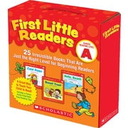 Scholastic First Little Readers, Guided Reading Level A: 25 Irresistible Books (anglais)