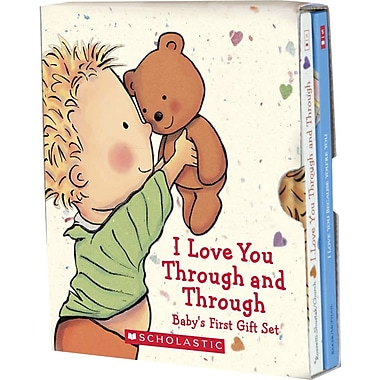 Scholastic I Love You Through, A Baby's First Gift Set