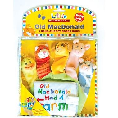 Little Scholastic – Old Macdonald, un livre tout carton avec marionnettes à main