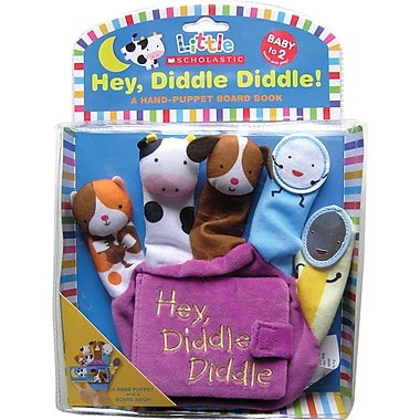 Little Scholastic Hey Diddle Diddle, A Hand-Puppet Board Book
