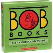 Bob Books Set 4 Compound Words, Box Set