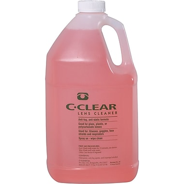 Dentec C-Clear Lens Cleaning Solution 1 gallon