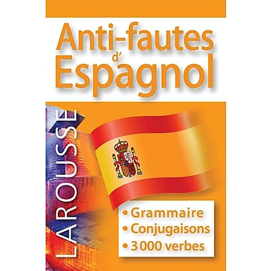 French Reference Book - Larousse Grammaire Anti-Fautes d' Espagnol