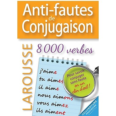 French Reference Book - Larousse Grammaire Anti-Fautes de Conjugaison