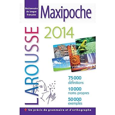 Larousse - Dictionnaire maxi de poche 2014