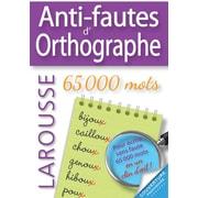 Larousse - Grammaire, anti-fautes d'orthographe