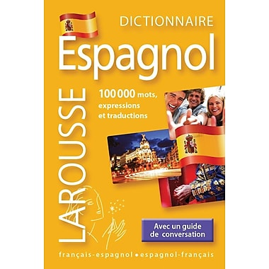 French Reference Book - Larousse Dictionnaire Mini Francais-Espagnol