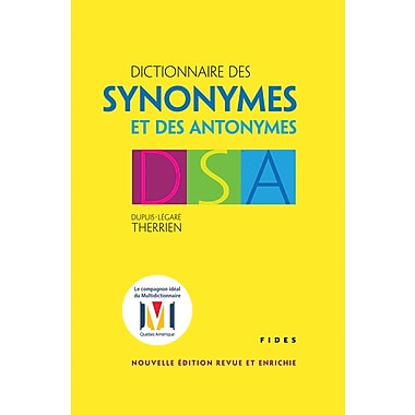 French Reference Book - Fides Dictionnaire Des Synonymes Et Des Antonymes