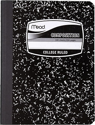 Mead Composition Book, 9 3/4