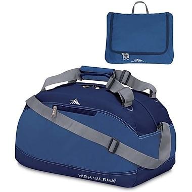 High Sierra – Sac de sport Pack-N-Go de 20 po, bleu