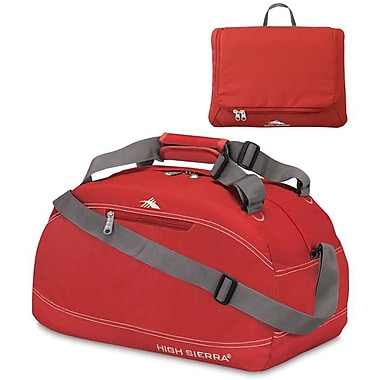 High Sierra – Sac de sport Pack-N-Go de 20 po, rouge