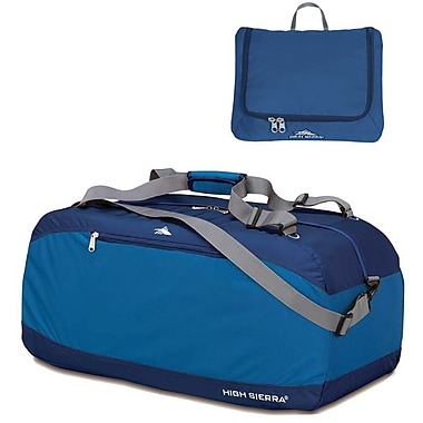 High Sierra – Sac de sport Pack-N-Go de 30 po, bleu
