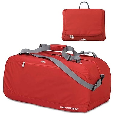 High Sierra – Sac de sport Pack-N-Go de 30 po, rouge