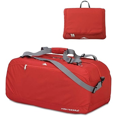 High Sierra – Sac de sport Pack-N-Go de 36 po, rouge