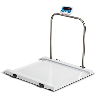 Brecknell Electronic Bariatric/Handrail Scale, 1,000 lbs
