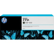 HP – Cartouche d'encre noire à finition mate DesignJet 771A, 3/paquet (B6Y39A)