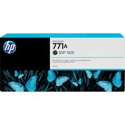HP DesignJet 771A Matte Black Ink Cartridge, 3/Pack (B6Y39A)