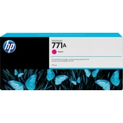 HP DesignJet 771A Magenta Ink Cartridge, 3/Pack (B6Y41A)