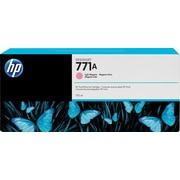 HP DesignJet 771A Light Magenta Ink Cartridge, 3/Pack (B6Y43A)