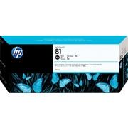 HP – Cartouche d'encre teintée noire DesignJet 81 (C4930A)