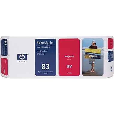 HP DesignJet 83 Magenta UV Ink Cartridge (C4942A)