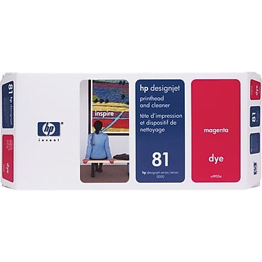 HP DesignJet 81 Magenta Dye Printhead and Cleaner (C4952A)