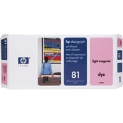 HP DesignJet 81 Light Magenta Dye Printhead and Cleaner (C4955A)