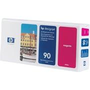 HP – Tête d'impression magenta et nettoyant 90 (C5056A)