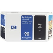 HP – Cartouche d'encre noire 90 (C5058A)