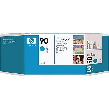 HP – Cartouche d'encre cyan 90 (C5061A)