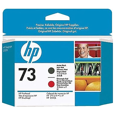 HP 73 Matte Black and Chromatic Red Printhead (CD949A)