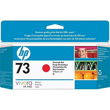 HP 73 Chromatic Red Ink Cartridge (CD951A)