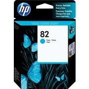 HP – Cartouche d'encre cyan 82 (CH566A)