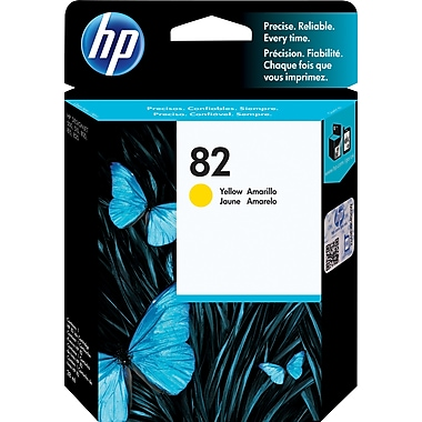HP 82 Yellow Ink Cartridge (CH568A)