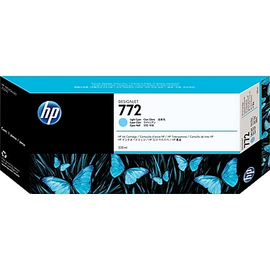 HP DesignJet 772 Light Cyan Ink Cartridge (CN632A)