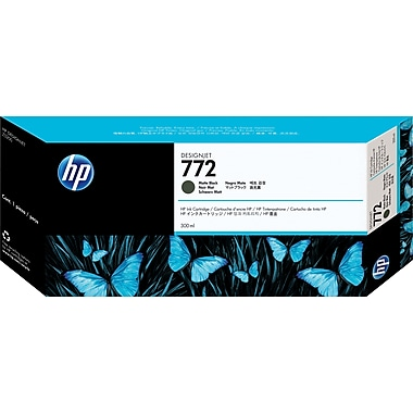 HP – Cartouche d'encre noire mate DesignJet 772 (CN635A)