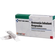 First Aid Only® Ammonia Inhalant Capsule, Box Of 10 (9-001)