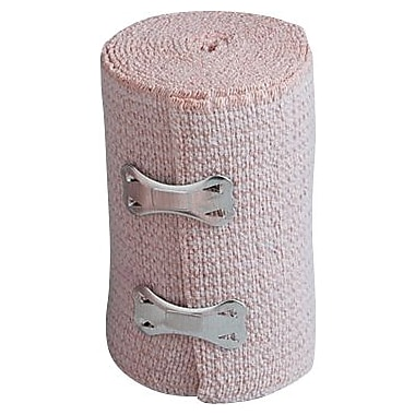 First Aid Only™ Elastic Bandage Wrap w/ 2 Fasteners, Latex-free, 3