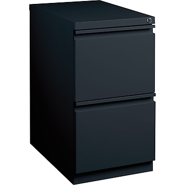 Staples 2 drawer mobile pedestal file cabinet black 23 for 22 deep kitchen cabinets