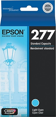 Epson 277 Light Cyan Ink Cartridge (T277520)